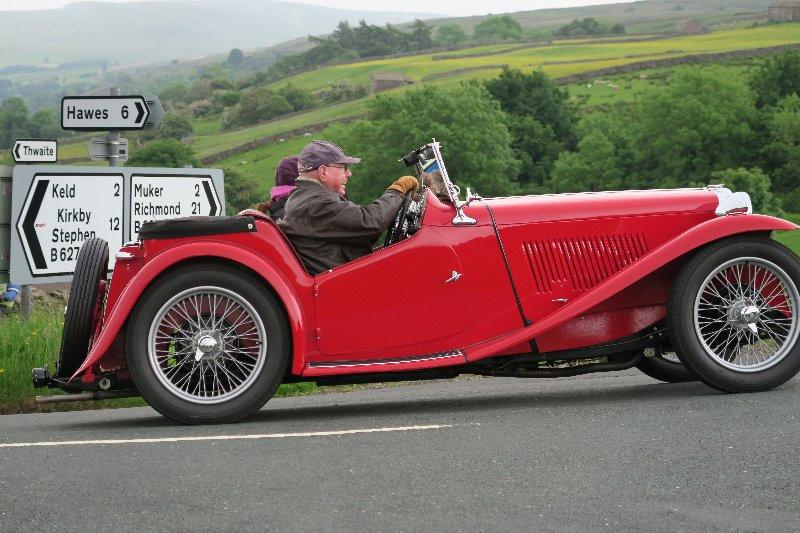 #Classic Car #Swaledale #Thwaitedale Cottages