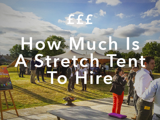 """""""How Much Is a Stretch Tent To Hire?"""""""