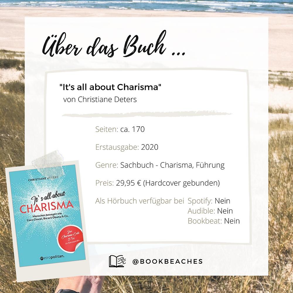 Bei Bookbeaches liest du die gesamte Rezension von It's all about Charisma von Christiane Deters.