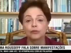 Dilma resolve falar sobre a pandemia
