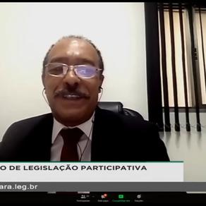 Jomateleno participa de mesa redonda da CLP e pleiteia audiência pública