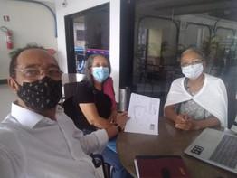 Primeira reunião sobre a sede da FES - Pará é realizada