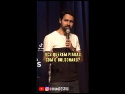 Por que não rir um pouco do Bolsonaro
