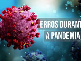Médico fala com conhecimento técnico sobre erros durante o combate à pandemia no Brasil