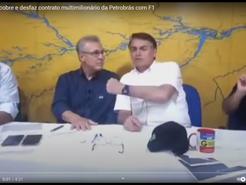 Bolsonaro descobre e desfaz contrato multimilionário da Petrobrás com F1