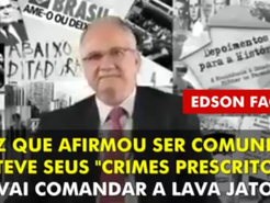 Edson Fachin confessa que cometeu muitos crimes