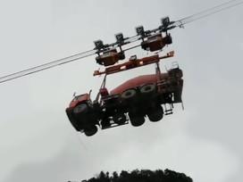 Já viu um caminhão voando? Se não, vai ver agora
