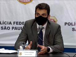 Polícia federal combatendo o coronavírus