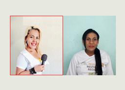 Sandra Araújo entrevista Gleiciane, colaboradora da Cooperativa Catar, no estado do Acre
