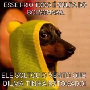 A culpa sempre tem que ser do Bolsonaro