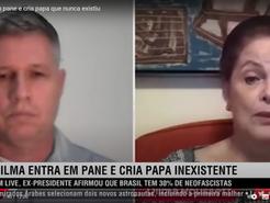 Dilma cria novo papa