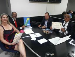 Reunião com (ANPV) Associação Nacional de Prefeitos e Vices