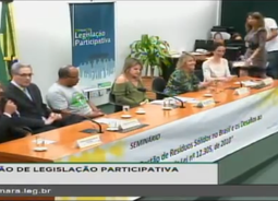 "Jomateleno apresenta o projeto ""Lixo Zero, Social 10"" no Congresso Nacional"
