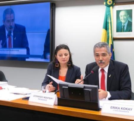 PRESIDENTE DA CLP, DEPUTADO LEONARDO MONTEIRO, CONFIRMA AUDIÊNCIA