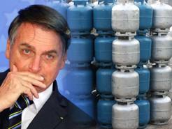 Bolsonaro pede explicações sobre o valor do botijão de gás