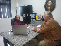 RICARDO DUREGGER É RECEBIDO PELA PRESIDÊNCIA DO ELO SOCIAL