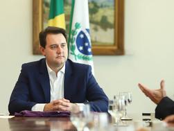 Governo do estado do Paraná é notificado