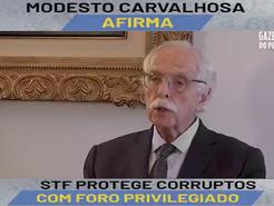 A expansão da impunidade a corruptos sem foro privilegiado