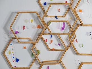 Sarah Hamel, Hexagones, 2021