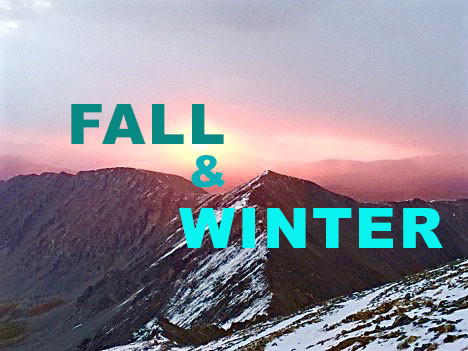 Fall And Winter Adventures