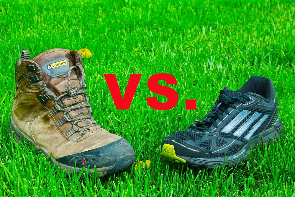 Boots Vs. Cross Trainers