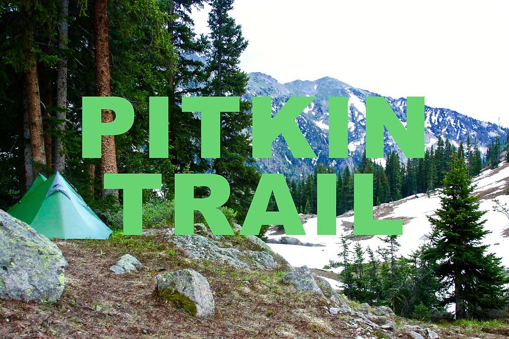 Camp Set Along Pitkin Trail
