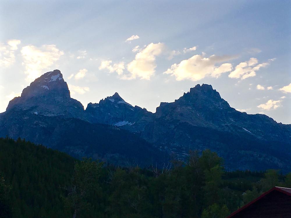 Colorado Peaks At Sunrise
