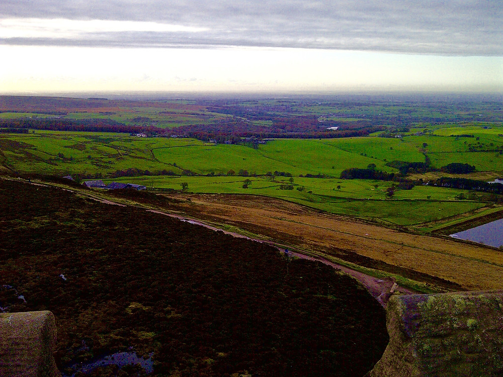 A View From The Top In The Pennines