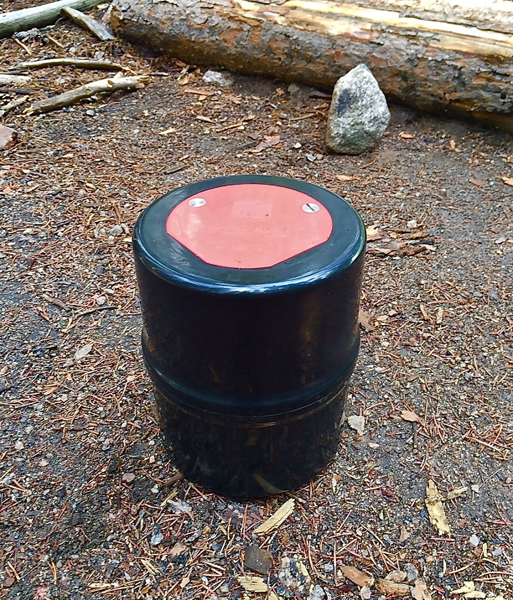 A lockable Bear Canister