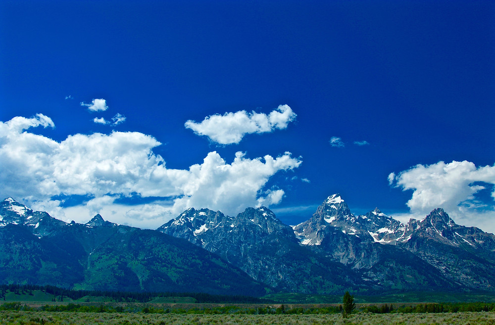 The Grand Teton Skyline