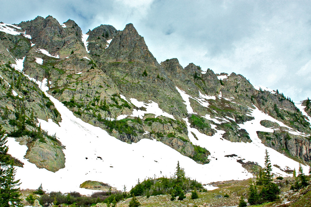 Peaks In Eagles Nest Wilderness