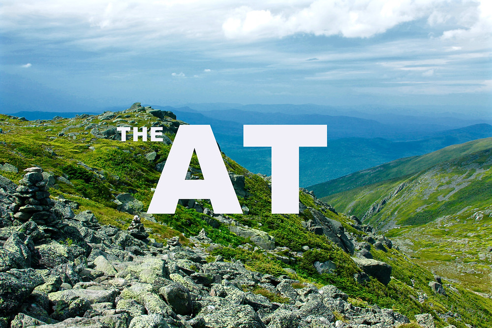The AT as is traverses the White Mountains