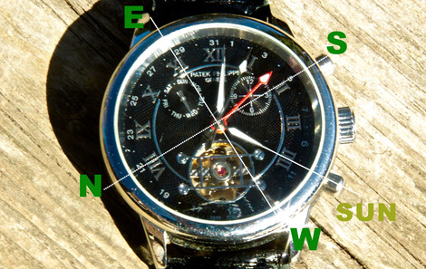 Keep The Time And Your Bearing With Your Watch