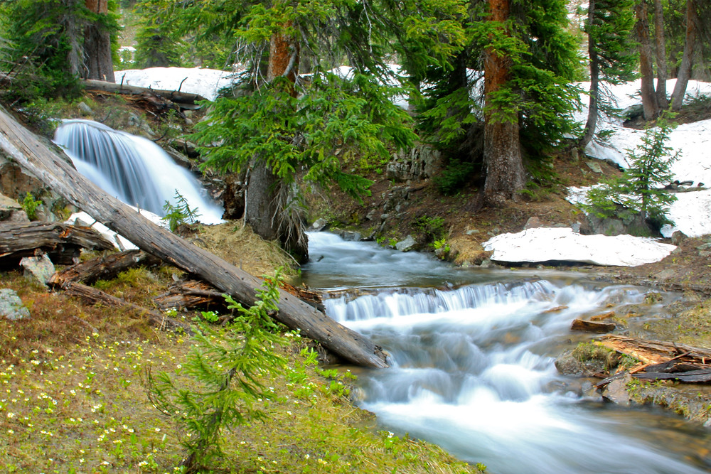 One of the Many Waterfalls In Eagles Nest