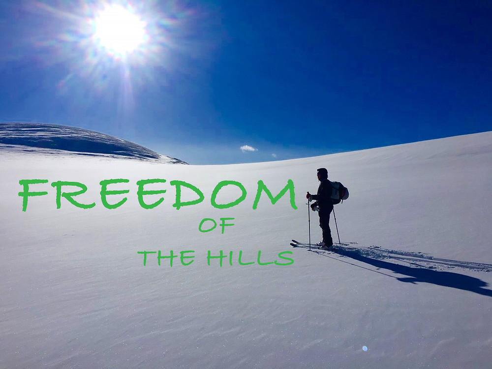 Freedom of Backcountry Skiing