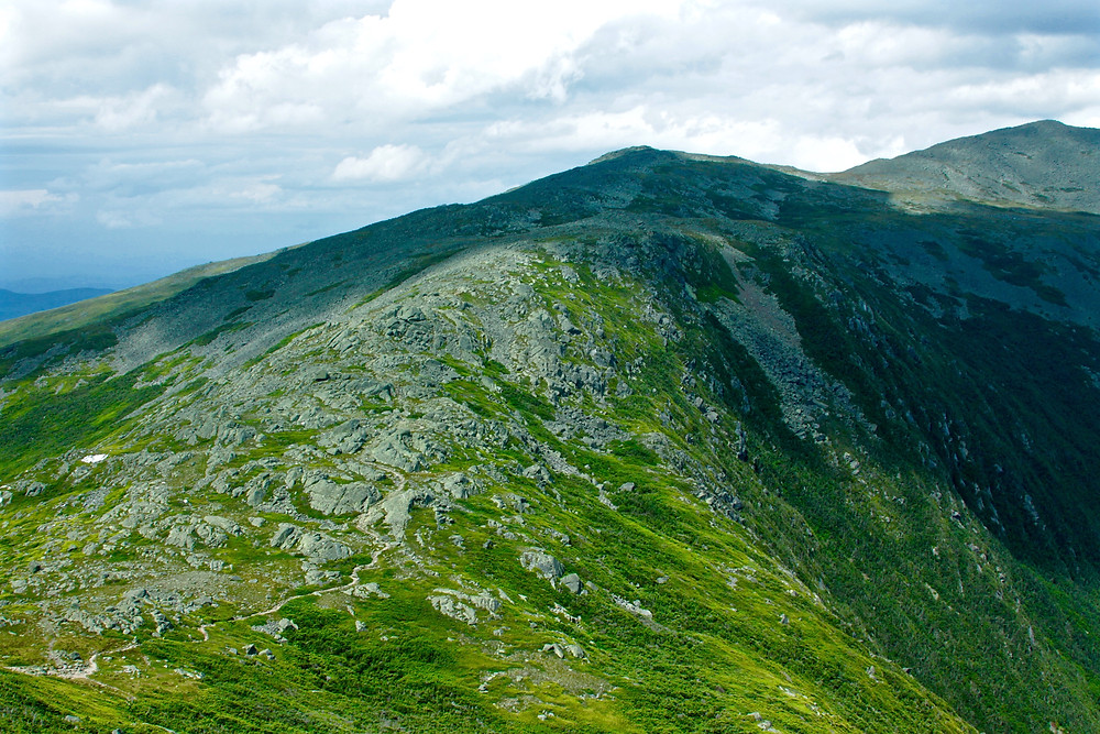 One Ridge Of Many In the White Mountains