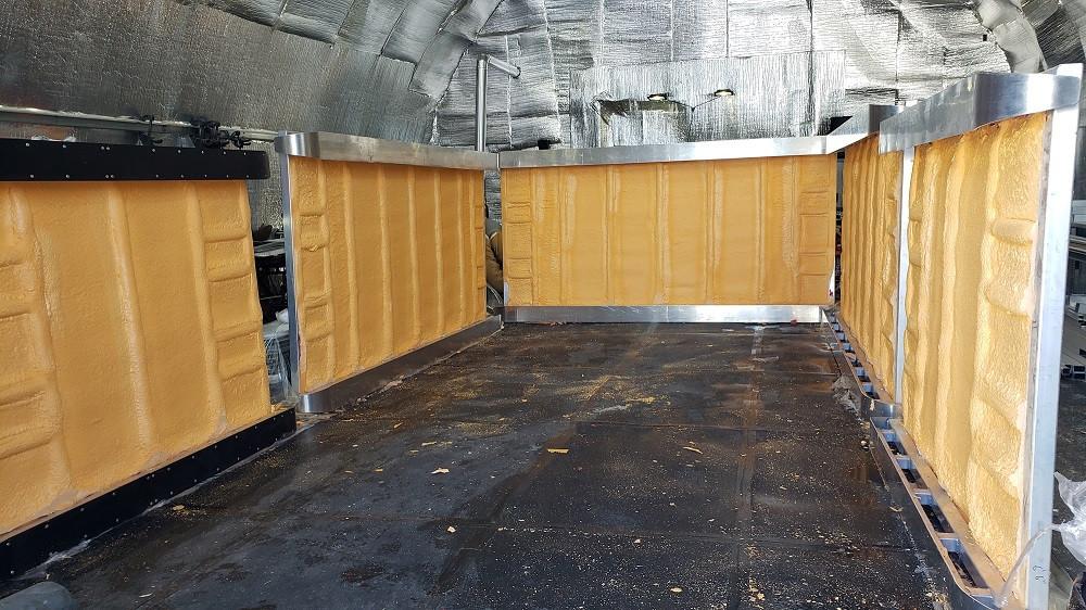 Ice Shack Interior