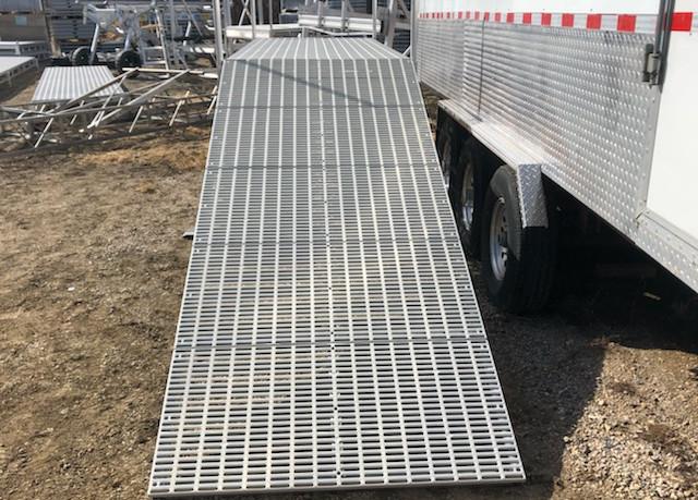 4'x10' Aluminum Dock Ramp