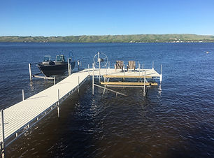 Aluminum docks for sale in Saskatchewan