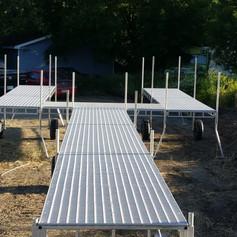 Aluminum dock for sale