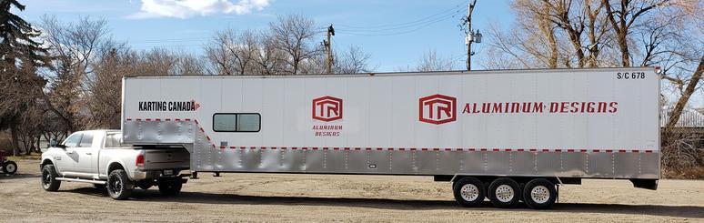 TR Aluminum Designs Trailer