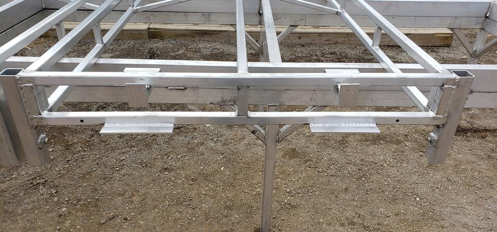 4'x10' Aluminum Dock Frame