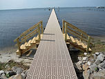 Thruflow dock decking available in Saskatchewan