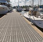 Thruflow dock decking available in Saskatchewan