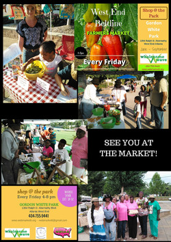 SEE YOU ATTHE MARKET!  post card