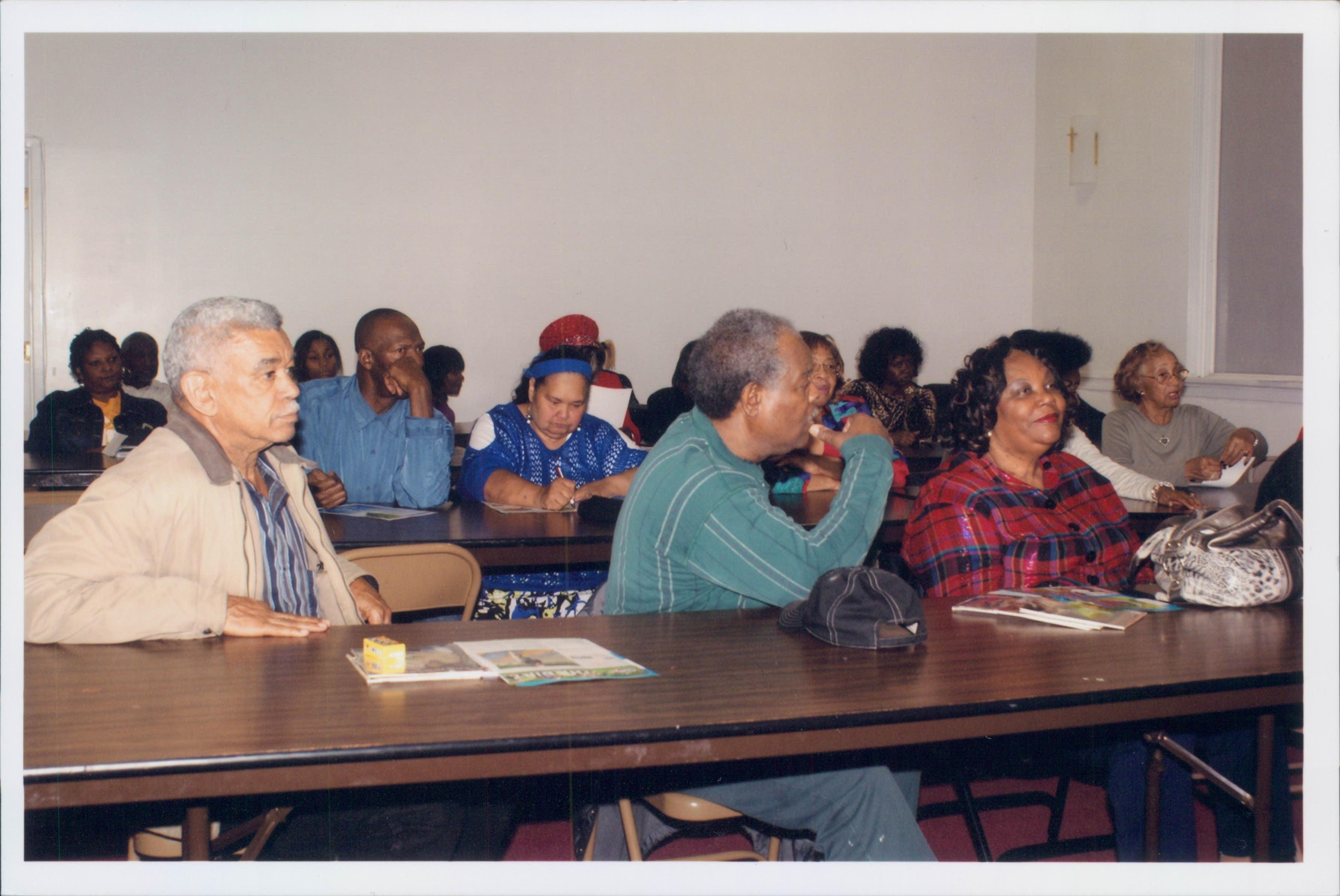 WENAR  community meeting