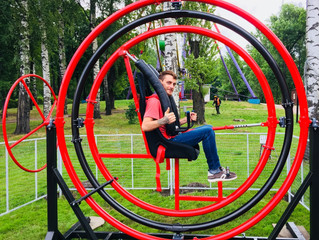 Гироскоп в зоне спорта и игр
