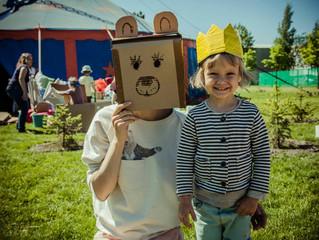 Упсала-цирк в детской зоне