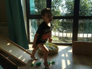 Сенсорное пространство в детской зоне