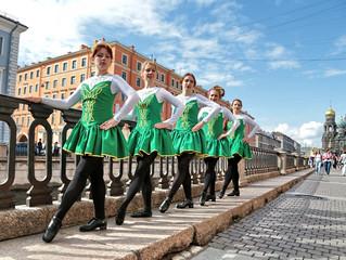 Ирландские танцы в зоне спорта и игр